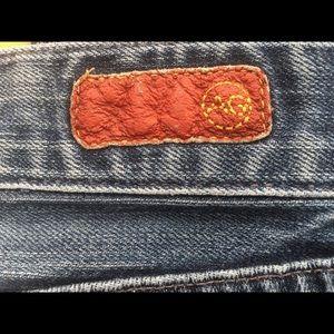 Ag Adriano Goldschmied Jeans - AG Adriano Goldschmied Tomboy Boyfriend Cut Jeans